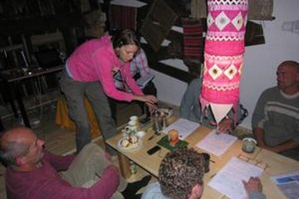 Hrhovských poslancov hostila Dorota Nvotová.