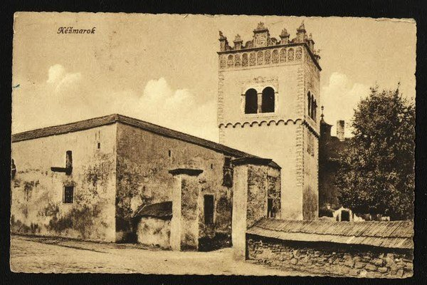 Prvá budova školy. Pochádza zroku 1536.
