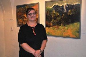 Veronika Grančayová. Talent využíva pri maľbách idrotárstve.