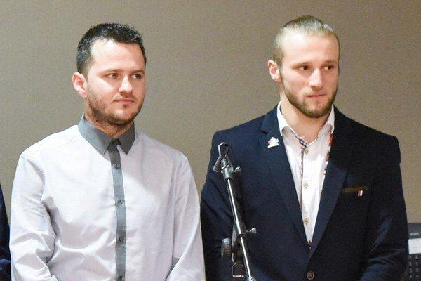 Východniari. Vpravo Oravec, vedľa neho Štefan.