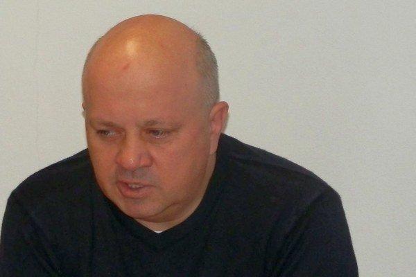 Prezident FK Poprad. Roman Dvorčák posúva klub dopredu.