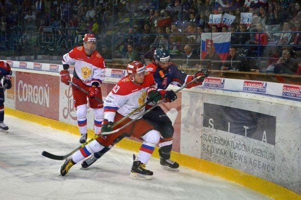 Kvalitný výkon. Slováci vPoprade fanúšikov nesklamali.