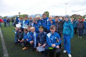 FK Poprad. Chlapci výkonnostne potešili.