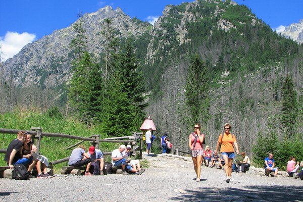 Počet návštevníkov Tatier z roka na rok stúpa.