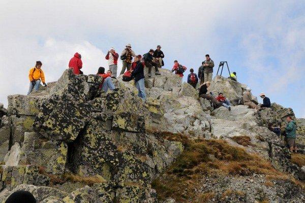 Vrchol Rysov je ročne cieľom tisícov turistov Tatier.