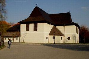 Evanjelický drevený artikulárny kostol v Kežmarku.