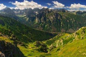 Bielovodská dolina.