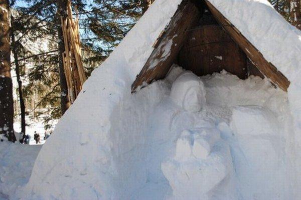 Takto vyzeral betlehem minulú zimu.