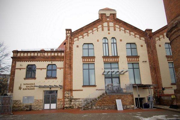 Tatranská galéria. Prešla komplexnou rekonštrukciou.
