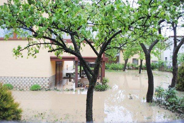 Takto vyzeral Kežmarok po májových povodniach.