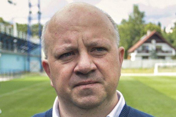 Roman Dvorčák. Prezident FK Poprad.