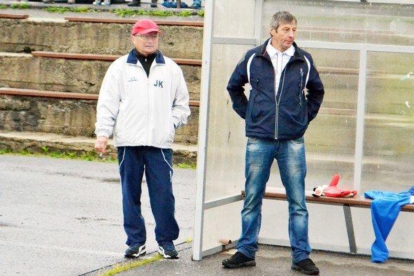 Milan Sabo (vpravo). Tréner ŠK Štrba.