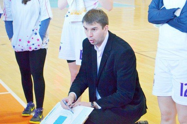 Igor Skočovski. Tréner BAM Poprad.