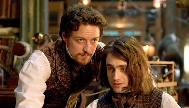 S Jamesom McAvoyom v snímke Victor Frankenstein (2015).