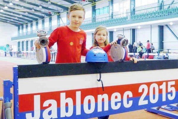 Úspešní. Tomáš Štinčík so sestrou Magdalénkou.