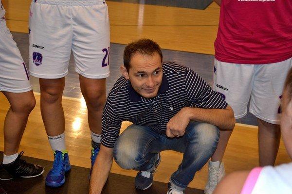 Ján Hricko. Tréner BAM Poprad môže byť zatiaľ spokojný.
