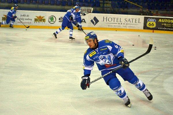 Jaroslav Jabrocký v Martine strelil dva góly.