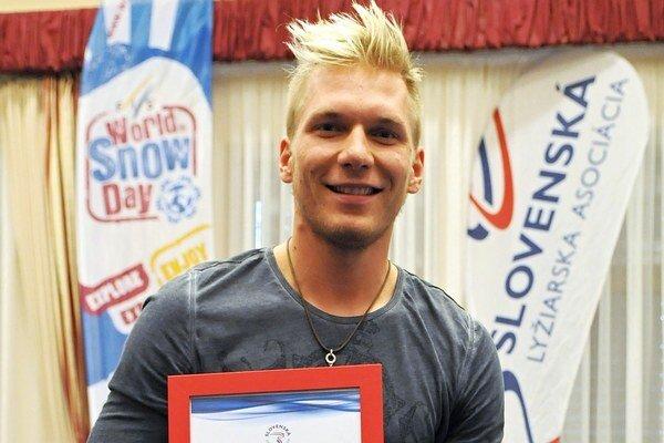 Adam Žampa získal ocenenie Lyžiar roka.