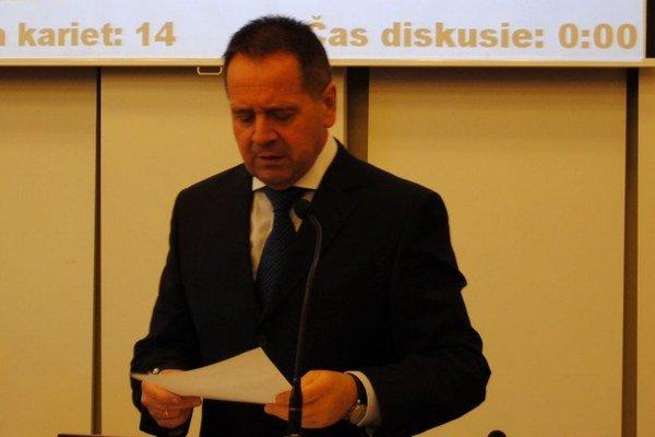 Anton Danko chce za viceprimátora Milana Barana.
