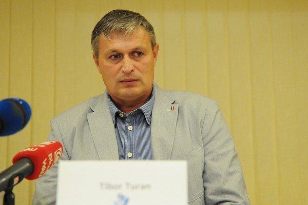Výkonný riaditeľ hokejového klubu HK Poprad Tibor Turan.