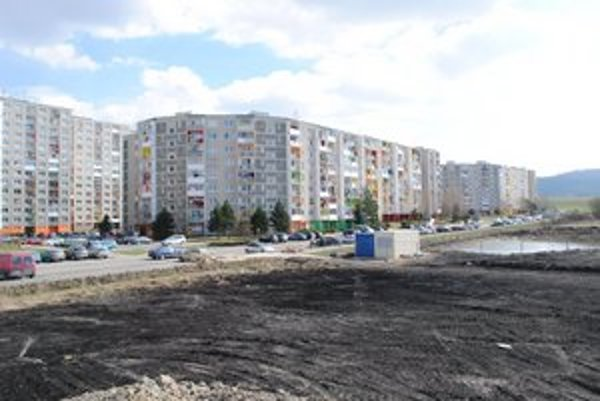 Mesto vykúpilo pozemky. Má na nich vyrásť až 265 bytov.
