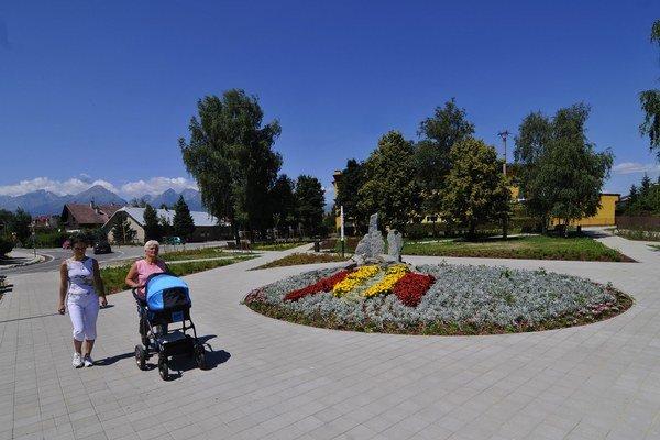 Vynovený je aj park neďaleko Tatranskej ulice.
