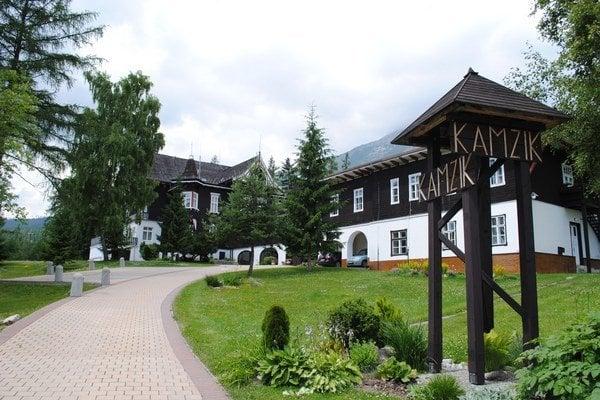 Vila Kamzík. Reprezentačné sídlo premiéra Fica.