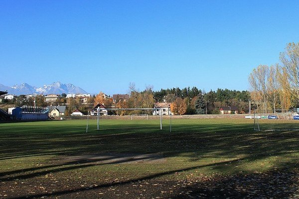 Futbalový štadión v Poprade. Takto si ho budú pamätať už len pamätníci.