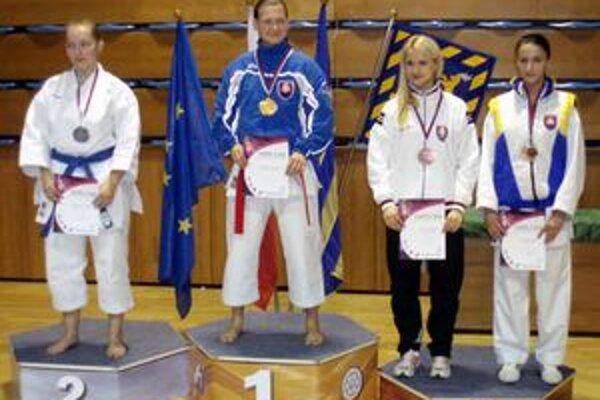Ivana Kucová. Vybojovala cenný bronz.