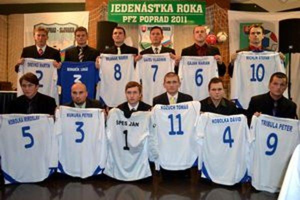 Jedenástka PFZ. Najlepší futbalisti za rok 2011.