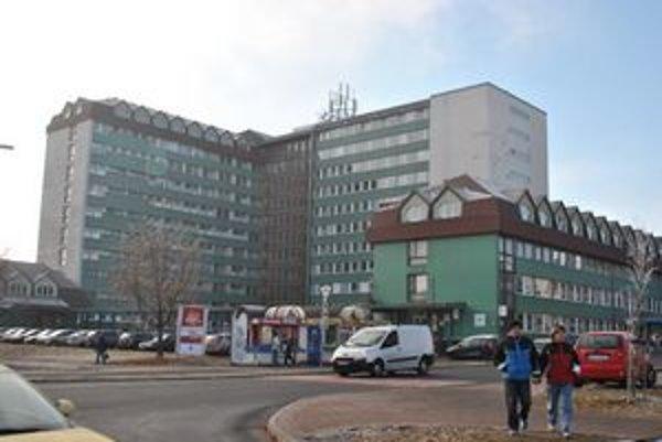 Popradská nemocnica.