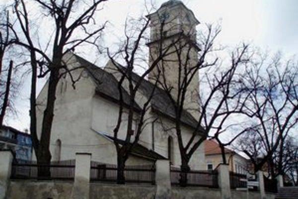 Popradský kostol sv. Egídia.