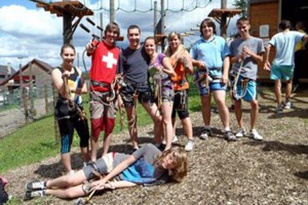 Mládež vyráža za adrenalínom. Akcie vonku majú mladí evanjelici najradšej.