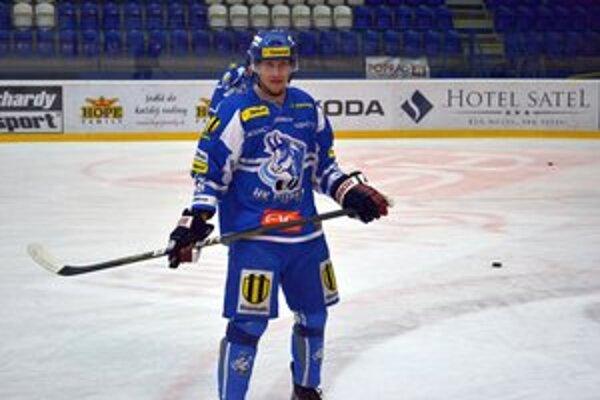 Filip Macejka zaznamenal prvý extraligový gól v popradskom drese.