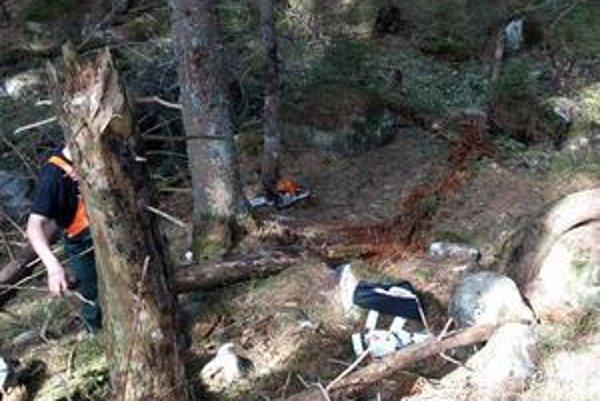 Práca drevorubačov je nebezpečná. Včera prišiel o život 49-ročný pilčík z Vikartoviec.