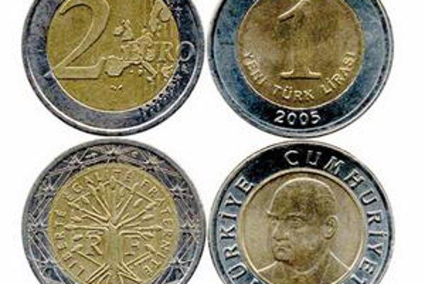 Jedna nová turecká líra má hodnotu len 40 eurocentov