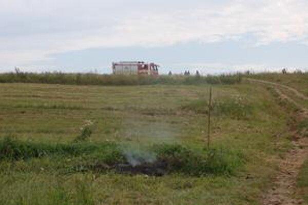 Požiar uhasili do pätnástich minút.