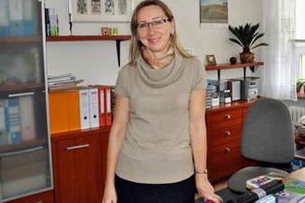 Katarína Kočišová. Riaditeľka hovorí, že medzinárodná súťaž sa stala tradíciou v Poprade.