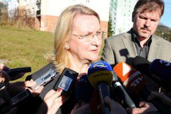 O prípadnom zlučovaní Správy TANAP-u a Štátnych lesov TANAP-u nechcela predsedníčka parlamentného výboru Mária Sabolová hovoriť.