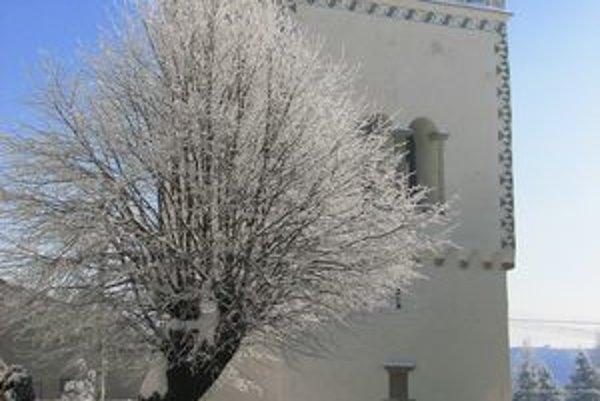 Renesančná zvonica vo Vrbove.