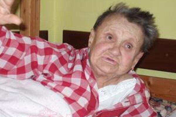 Júlia Wawrinková. Dôchodkyňa dnes žije v bytíku na popradskom sídlisku a spolu s príbuznými čaká na rozsudok.