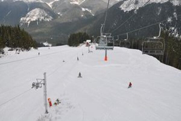 Podmienky na lyžovanie v stredisku Zverovka – Spálená.