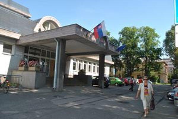 Budova kežmarského úradu práce.