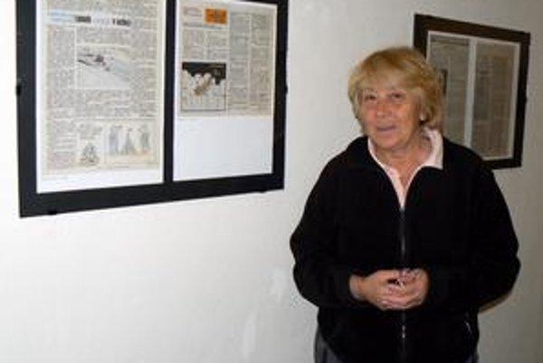 Viola Kapolková. O smokoveckej výstave hovorí, že Bela vystihuje ako človeka, akým bol.