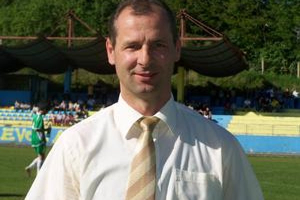 Miroslav Dunčko. Tréner Levočanov bol s účinkovaním svojho tímu maximálne spokojný.