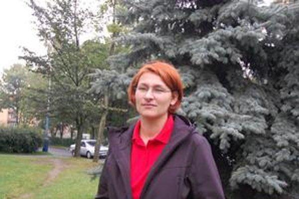 Sylvia Galajda. Hovorkyňa leteckých záchranárov.