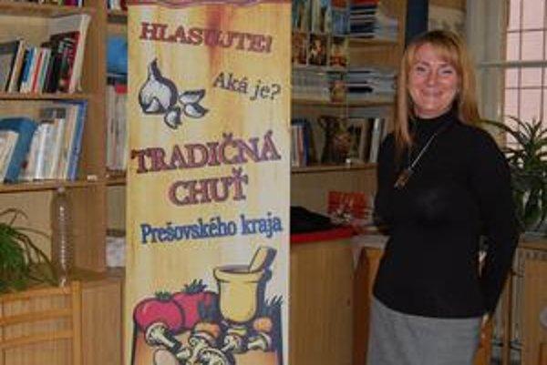 Daniela Mihóková. Pod palcom mala časť Ako chutí Prešovský kraj, ako chutí Európa.