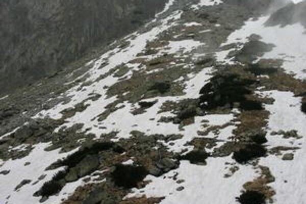 Veľký hang v Malej Studenej doline.