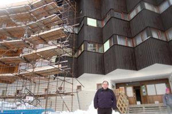Klaudius Burger, riaditeľ horského hotela Sliezsky dom.