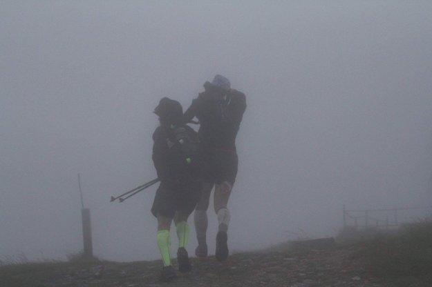 Takéto podmienky vládli v horách.